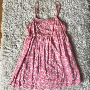 Babydoll Paisley Dress